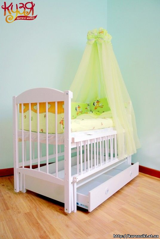 Ліжко-колиска з маятниковим механізмом гойдання призначене для дітей віком  від 0 до 5 років. 60993b2047a11