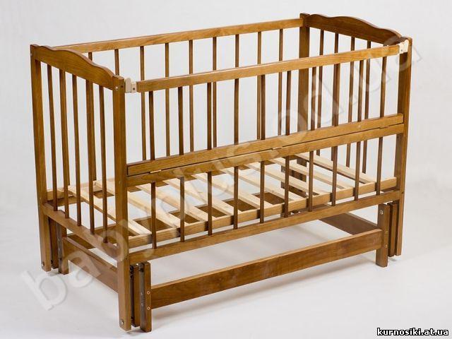 Как сделать чтоб кроватка детская качалась