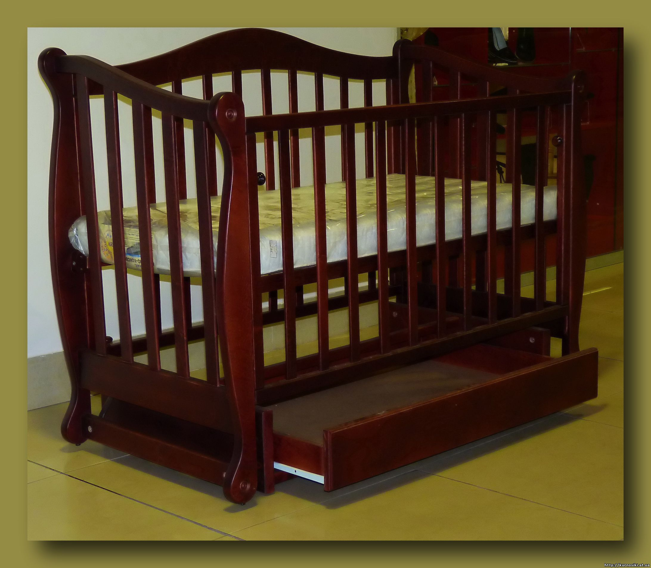 Детская кровать маятниковая своими руками 36